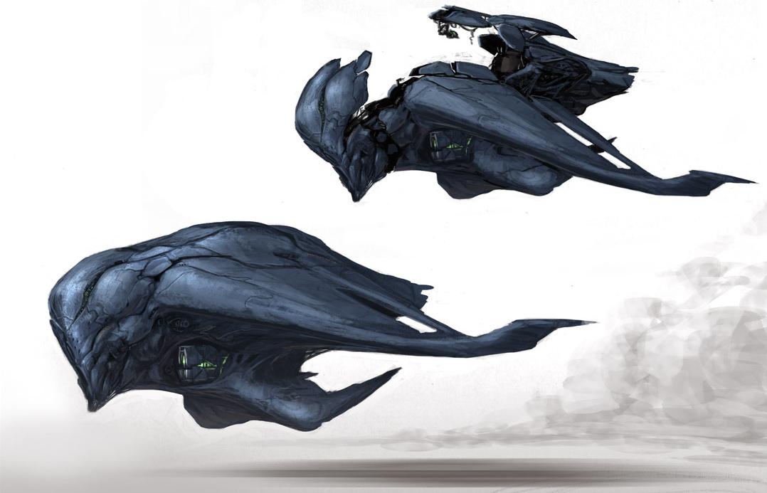 Alien Spaceships Artwork and Concept   Ross Johnston Films